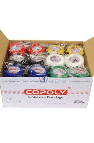 Copoly blandade färger 10 cmx4,5 m /12