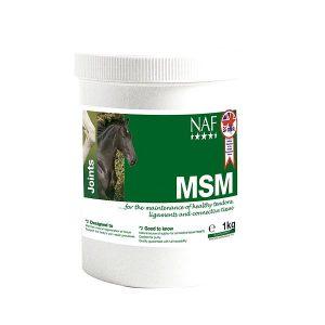 NAF MSM 300g hästtillskott leder