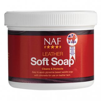 NAF leather-soft-soap 450g